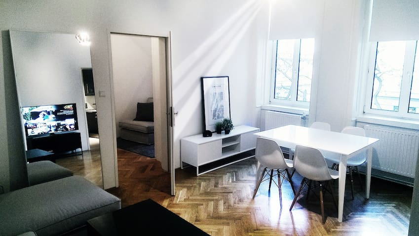 Newly furnished, walking distance to city center! - Wien - Apartment