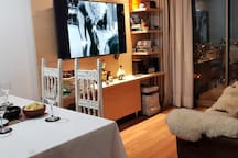 Cómoda habitación en Parque O`Higgins