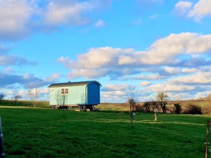 Y Cwt Cwtch, the 'cuddle' hut