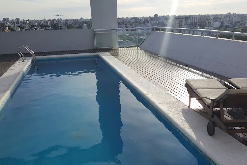 pool on 17th floor