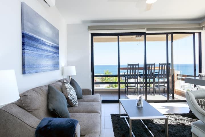 Costa Azul Beach Penthouse I Modern 2BR + Pool