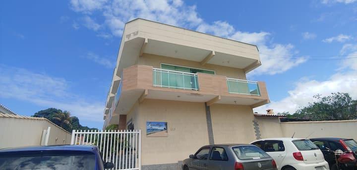 Casa  2 Qt com piscina e área gourmet 400 mt lagoa