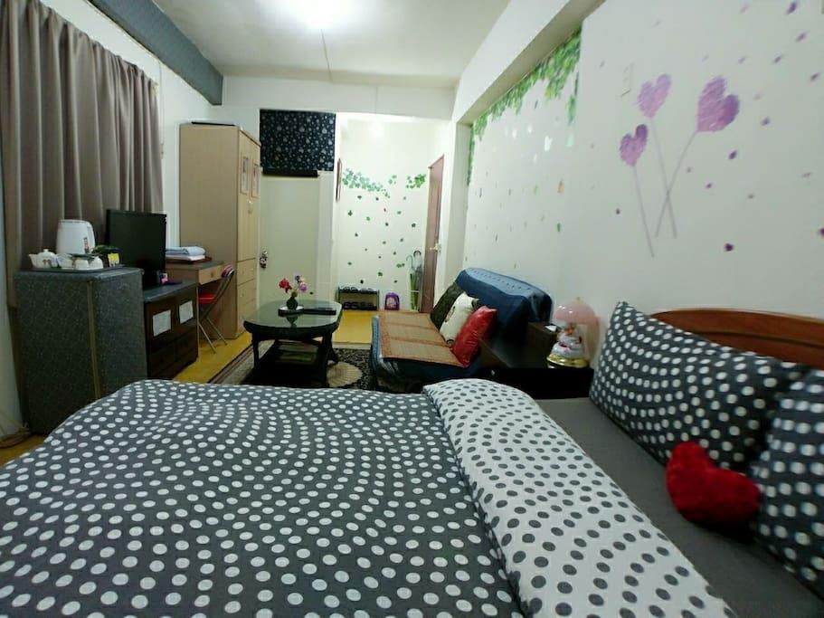 乾淨舒適的獨立套房