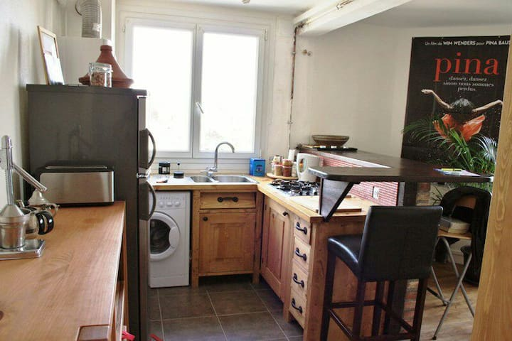 Apt spacieux, tout équipé avec vue - Rennes - Apartament