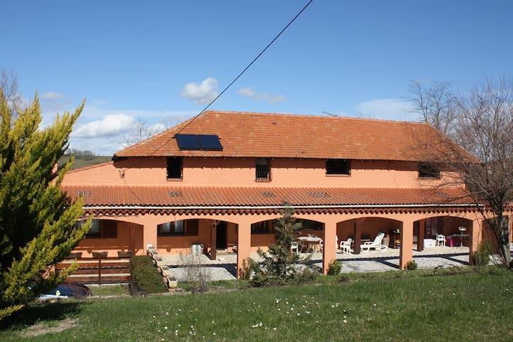 LE RELAIS DE LA MOULIERE - Montesquieu-Volvestre - Casa
