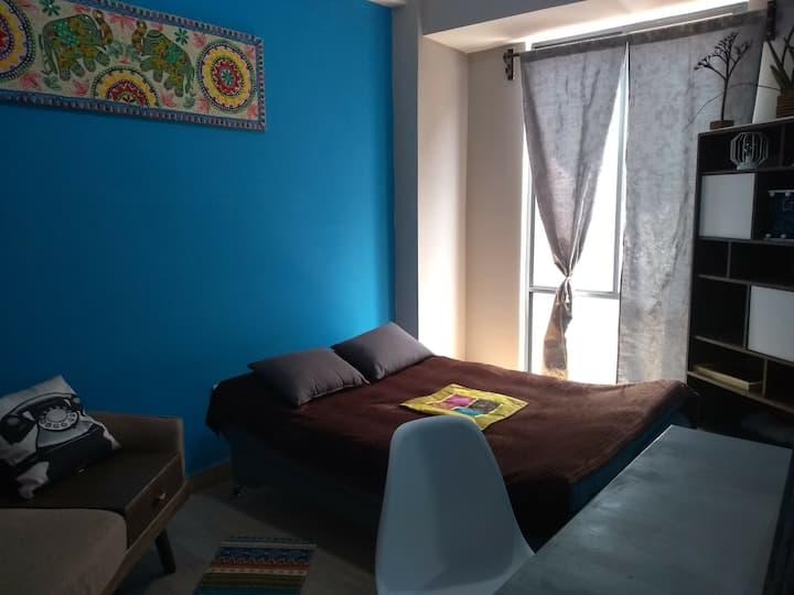 Hermosa habitación/estudio Residencial San Simón