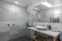 shower in luxury