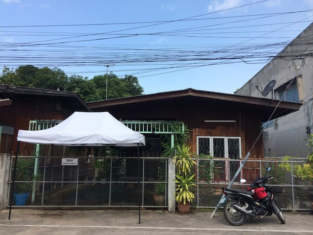 BeFine Lampang:House, Fan room 4beds, River view.