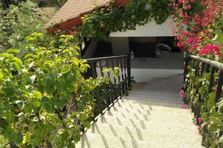 Belle rare villa fleurie face plage - Ngaparou