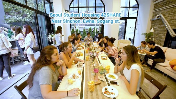 Yonsei Hall Seoul Student Housing 42SHARE
