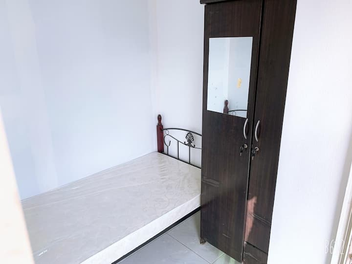 Private partition room with balcony