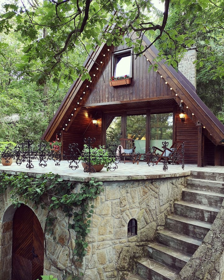 kiskalács cabin