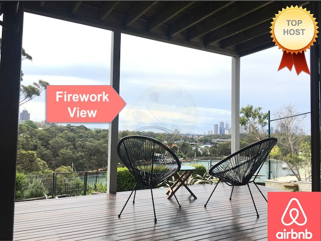 Private n tranquil private unit.SYD harbour view!