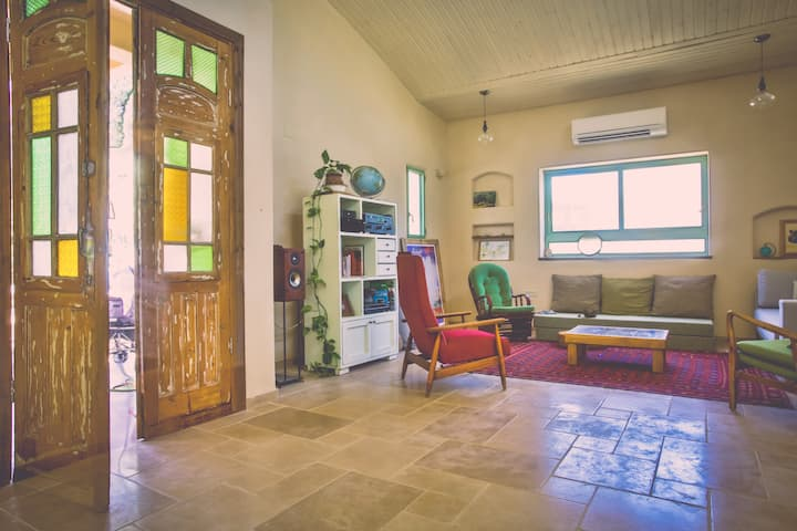 the eco-villa in the galilee kibbutz