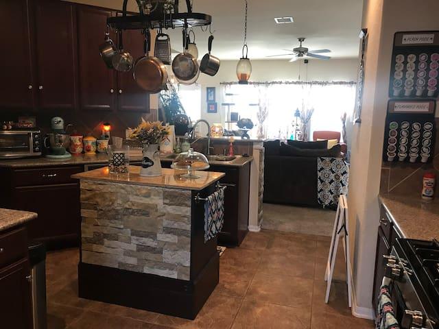 Large spacious kitchen