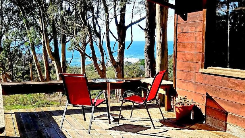 HIGH TOR Cottage with Ocean Views on one acre land