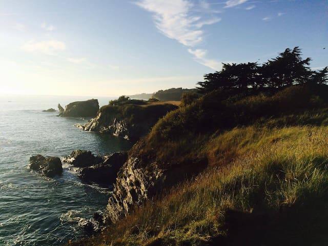 La côte toute proche