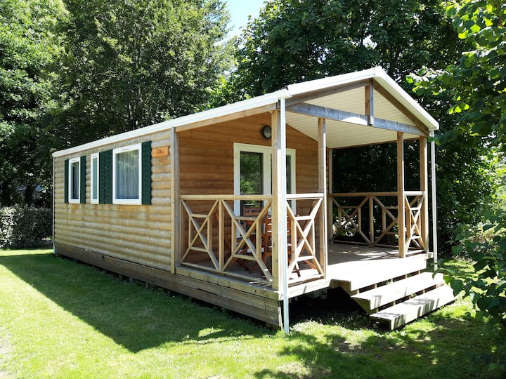 Mobil-home Rubia 4 pers. - Camping Le Petit Bois