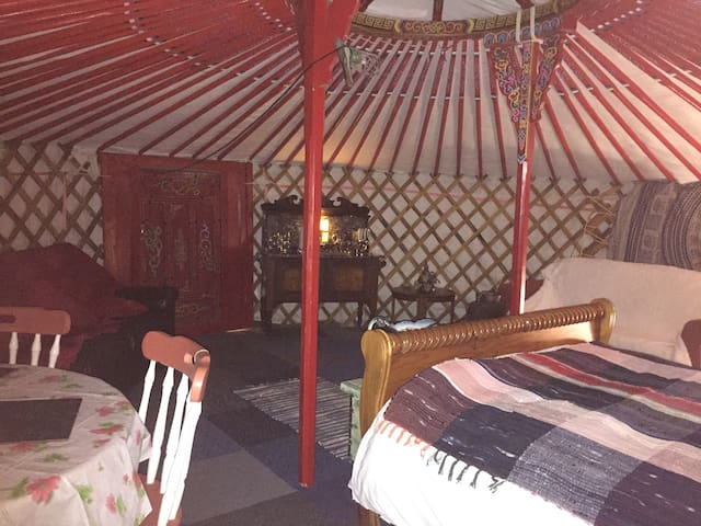 "The HIDEAWAY  ""SUNRISE SUNSET ALL SEASONS....YURT"""