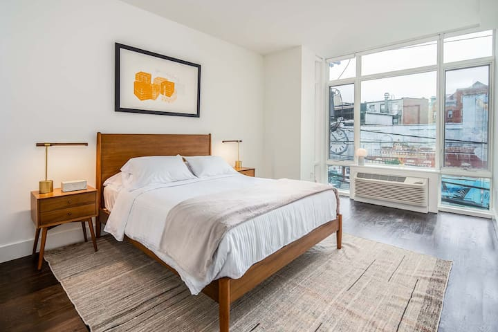 Elegant Downtown 2BR Suite | Steps from Grove PATH