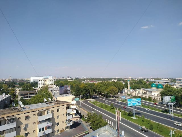 City Centre HAMZA 1 min Metro 2 bed Apartment. NEW