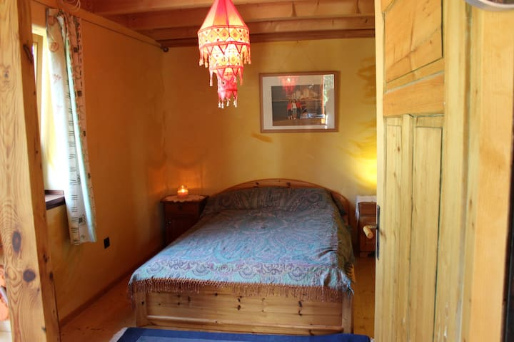 Kid-friendly room on countryside
