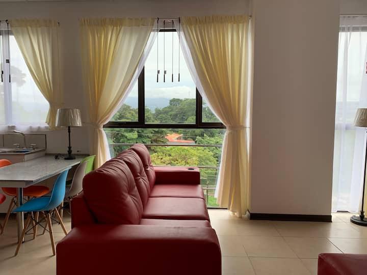 Apartamento con Vista a las Montañas