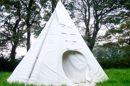 Tipi glamping experience. - 콘월(Cornwall)