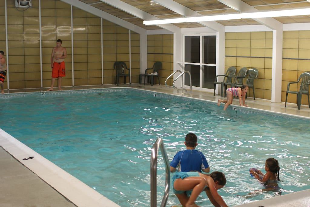 Indoor pool provides year round fun