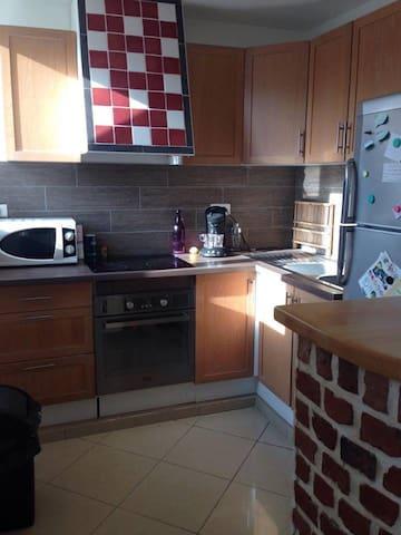 Appartement tout confort en centre ville - Valenciennes - Apartament
