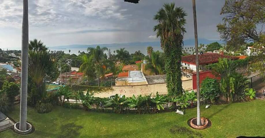 Casa en Chapala con vista al lago.