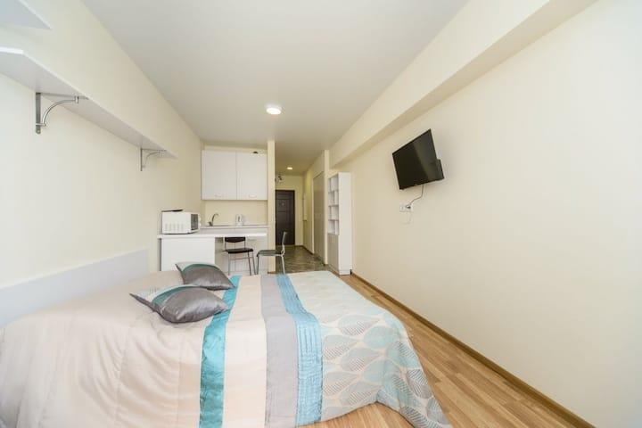 Cozy studio apartment in SmartHause 515