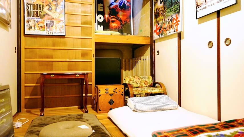 single room. no air conditioner no window.4.5㎡