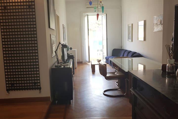 Spazioso appartamento a due passi dal mare
