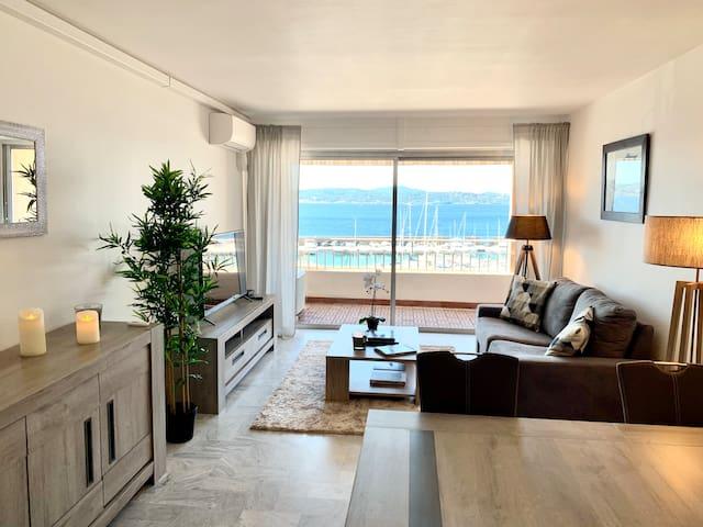 Appartement Front de Mer Sainte Maxime 4 couchages