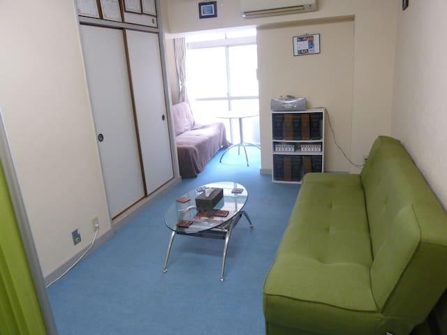 33m2 Roomy Apartment - Kyoto St. just 7-mins walk