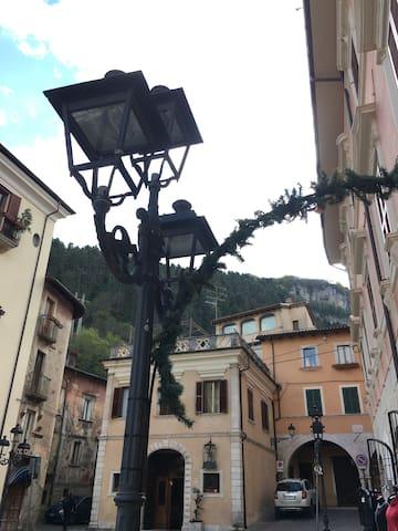 Tagliacozzo- splendida cittadina nelle vicinanze
