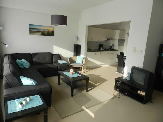 Gezellig gelijkvloersappartement (5P)  in Oostende