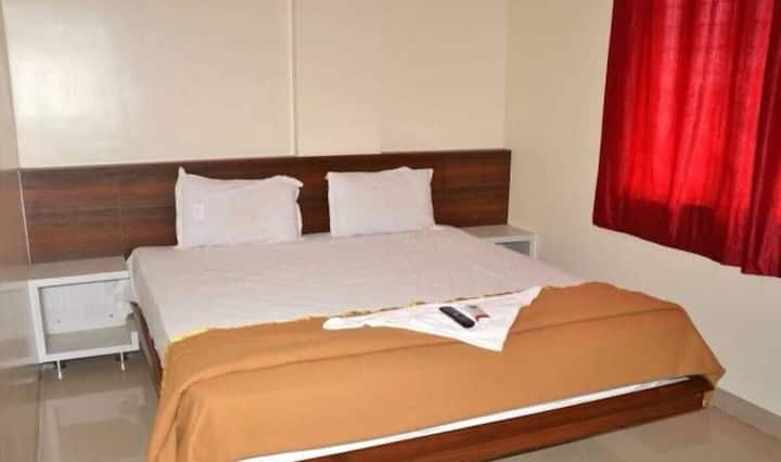 Hotel Krishna Lodge,Tuljapur Deluxe Room Ac