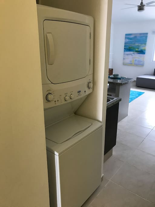 Dryer and Washer in unit