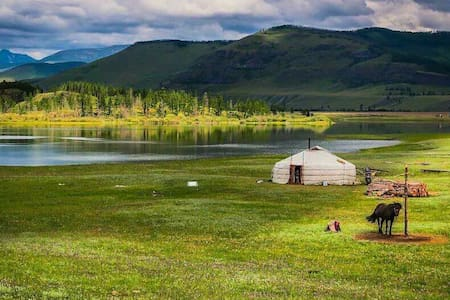 Stay at an ancient nomadic shelter!