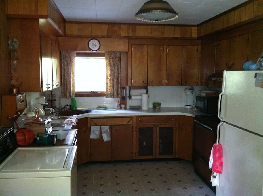 Kitchen, which also has a small (4 person) dining area as well. That's where the photo is taken from.