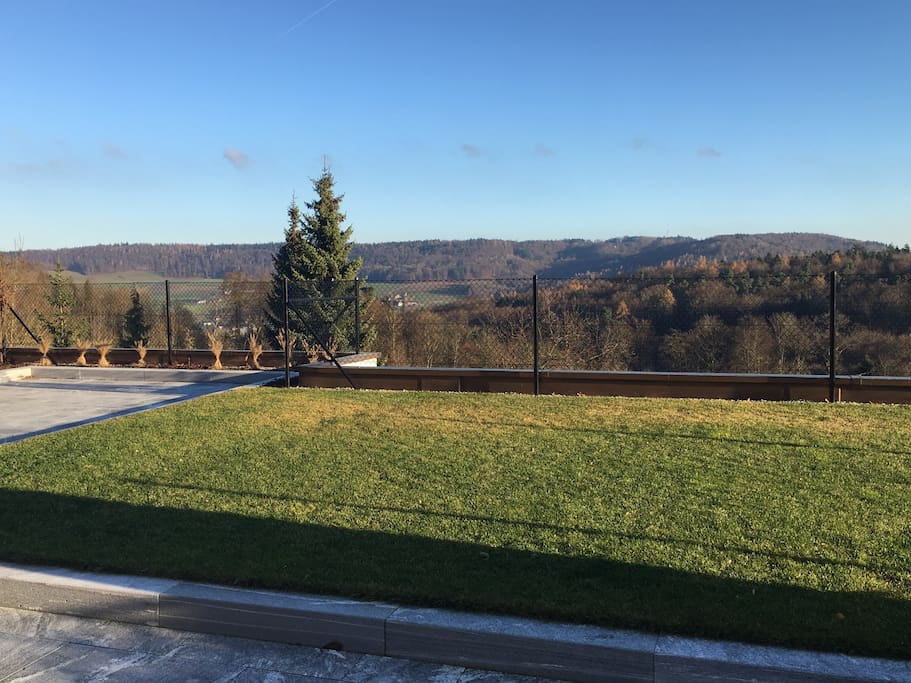 150 m2 terrasse with panorama view