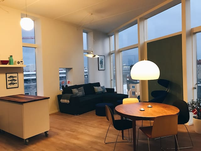 Private room in a trendy Nørrebro apartment - 哥本哈根 - 公寓