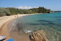 Пляж Большой Спатьес около виллы