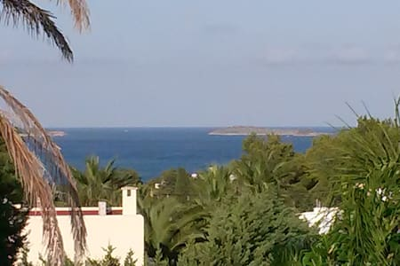 Casa independiente con piscina y terraza vista mar - Santa Eulària des Riu - Ev