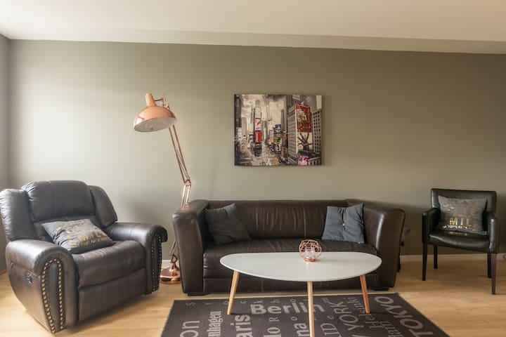Large 2 bedroom apartment in downtown Akureyri - Town Square Apartments