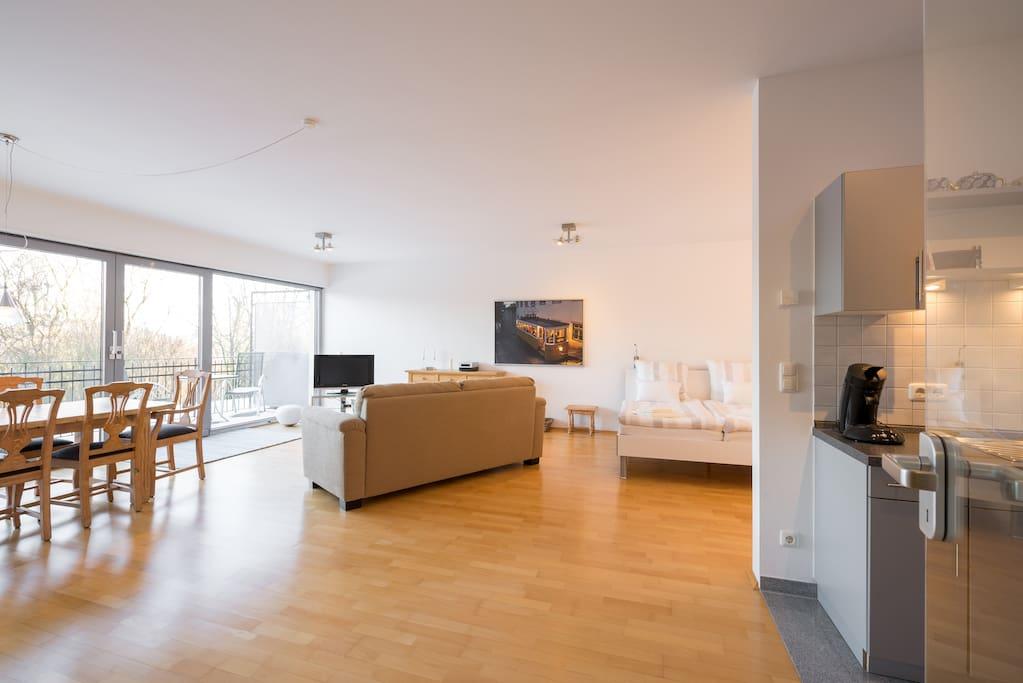 Modernes Apartment Am Viktoria Park Apartments For Rent