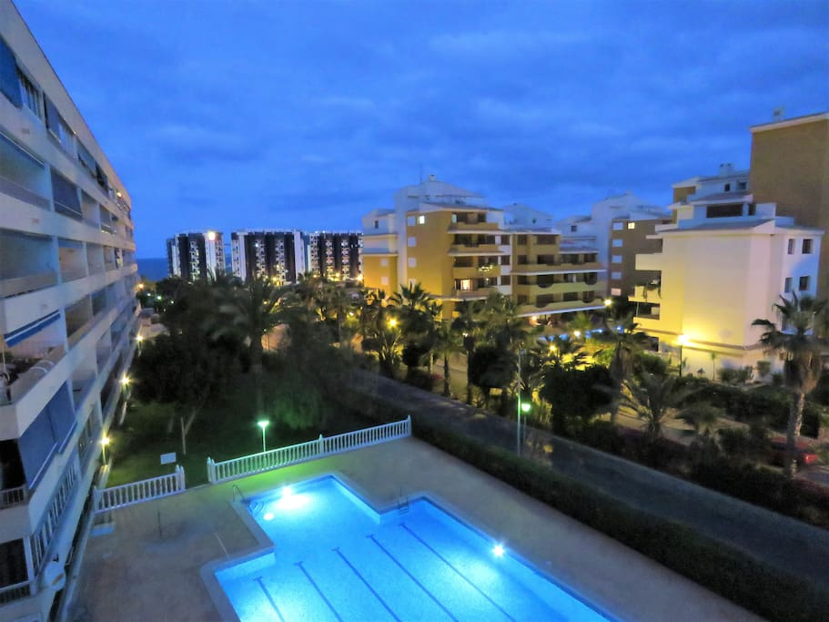 View from the terrace of the apartment