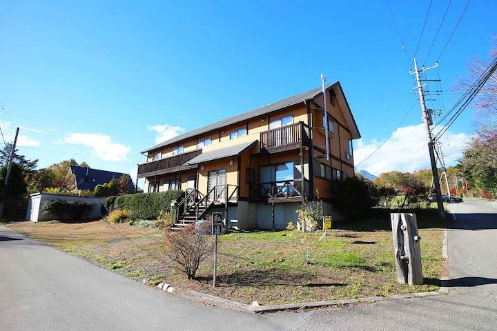 眺望のいい旅館(南側に富士山、北側に八ヶ岳)